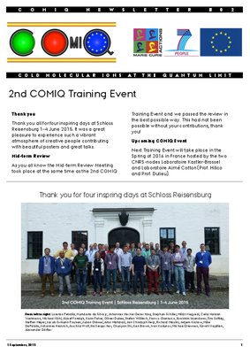COMIQ Newsletter 2